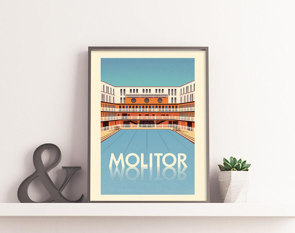 L'affiche du Molitor