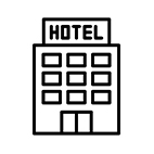 pictogramme hotel